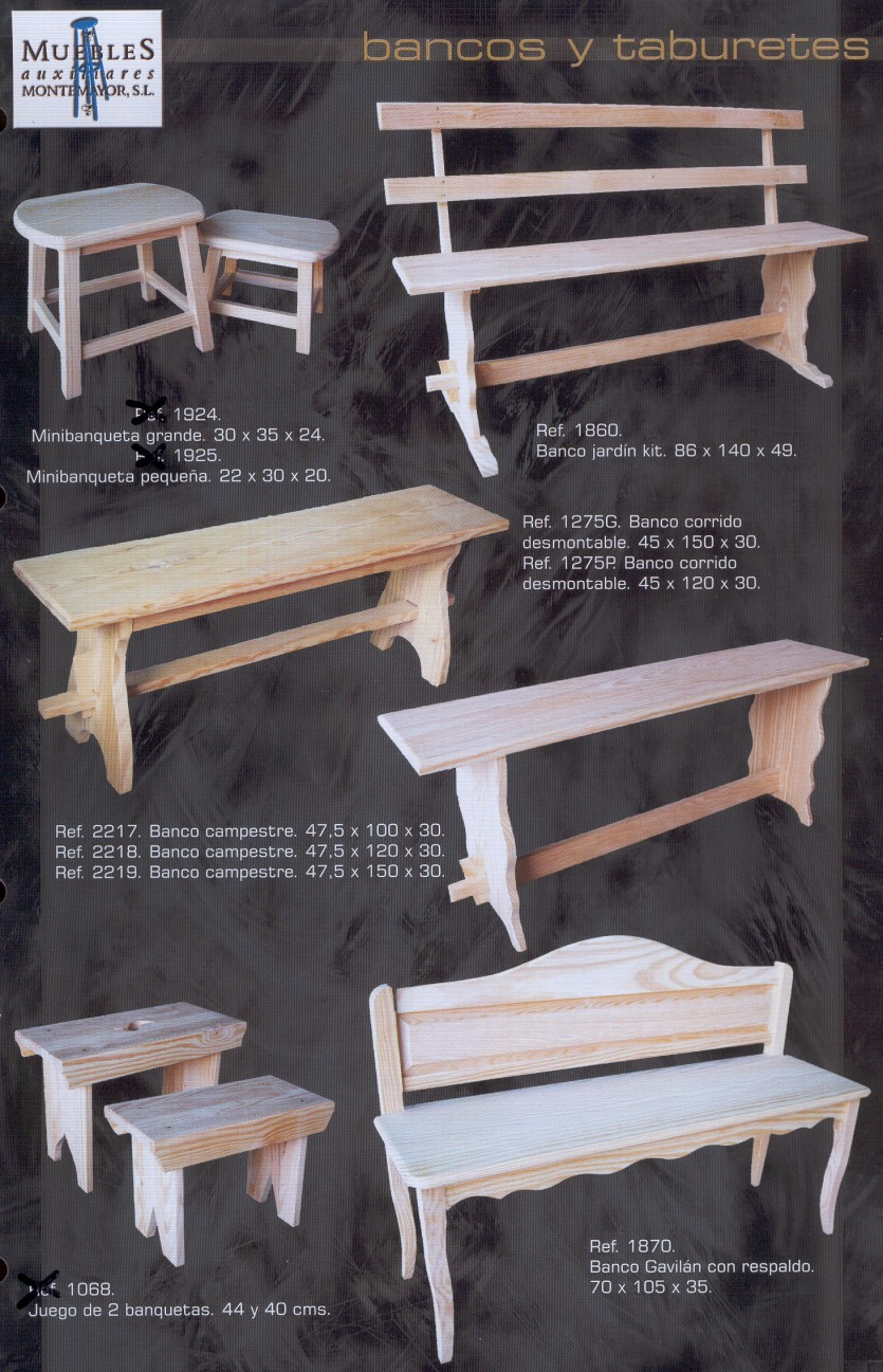 Bricovalle catalogo montemayor muebles de pino macizo - Muebles de pino macizo ...