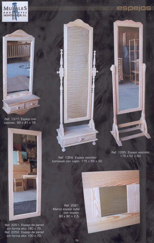 Bricovalle catalogo montemayor muebles de pino macizo - Muebles auxiliares montemayor ...