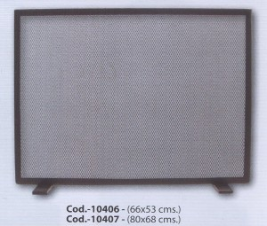 10407 Salvachispas simple 80x68 cm.