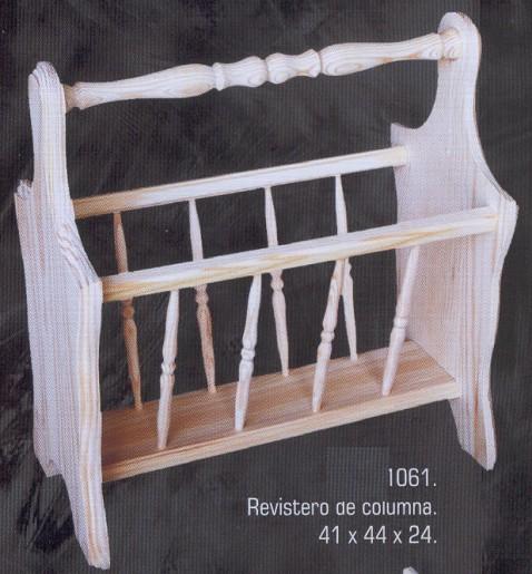 1061 revistero de columna 1061 revisteros muebles de - Muebles montemayor ...