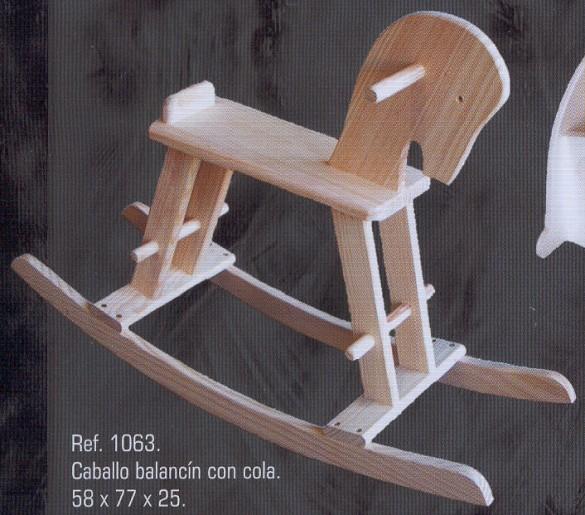 Seccion Infantil  Muebles de pino macizo  1580 Mesa infantil