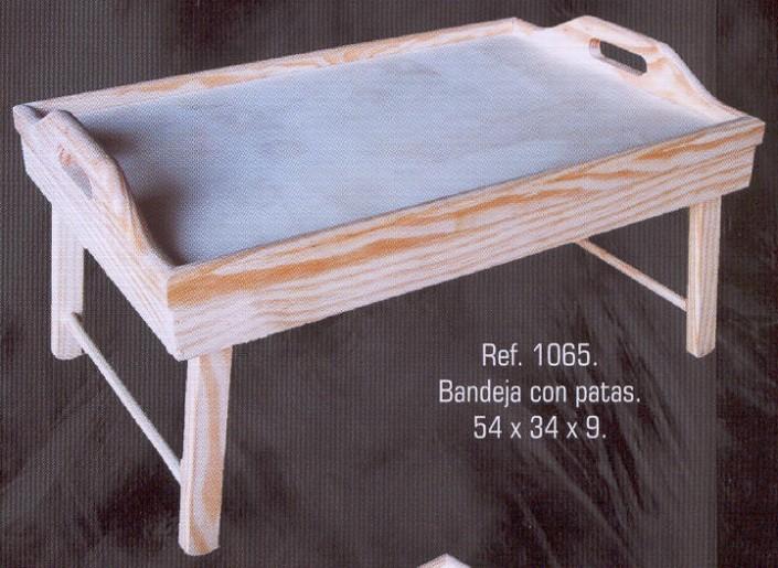 1065 bandeja con patas 1065 manualidades muebles de pino macizo muebles de montemayor - Bandeja con patas ...