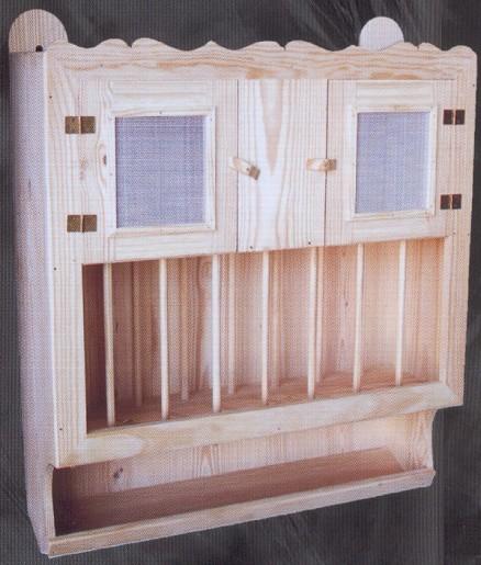 1101 1 escurridor con fresquera 1101 1 complementos - Muebles de pino macizo ...