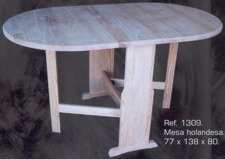 1309 mesa holandesa plegable 1309 mesas muebles de - Muebles montemayor ...