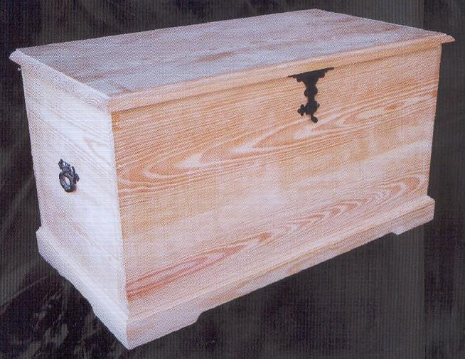 1396 baul de herrajes 92 1396 baules muebles de pino - Muebles montemayor ...
