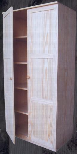 1401 armario rustico 1401 armarios muebles de pino - Muebles montemayor ...