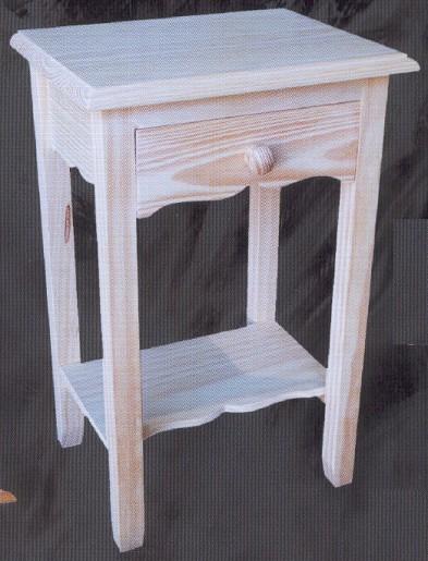 Mesillas muebles de pino macizo muebles 2124 mesilla - Muebles auxiliares montemayor ...
