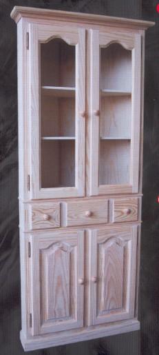 1449 vitrina de rincon 1449 vitrinas muebles de pino - Muebles montemayor ...
