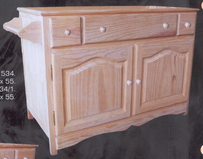 Bano y accesorios muebles de pino macizo muebles for Muebles pino natural