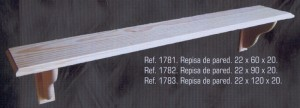 1781 Repisa de pared 60