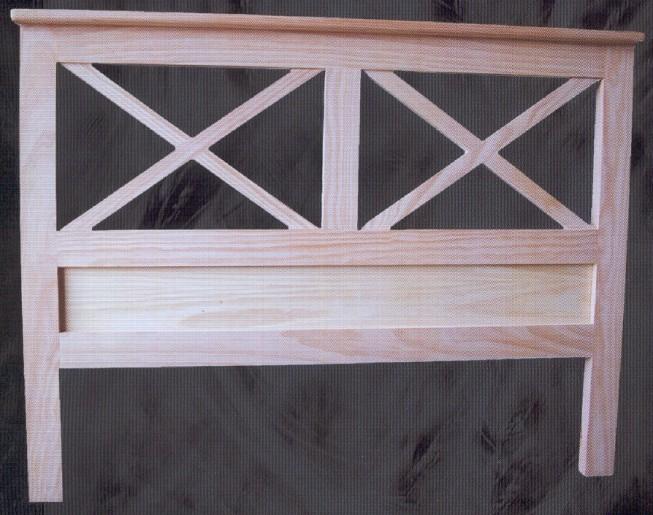 Camas y cabeceros muebles de pino macizo muebles - Cabeceros cama 105 ...