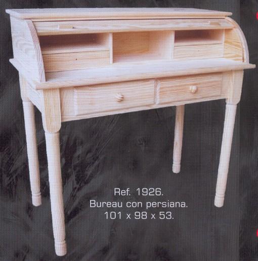 1926 bureau con persiana 1926 escritorios muebles de - Muebles montemayor ...
