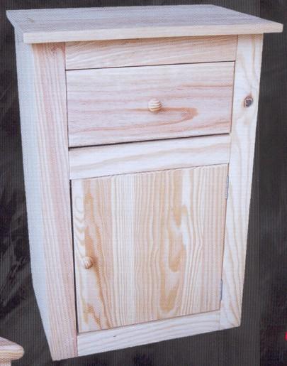 2123 mesilla montemayor con cajon y puerta 2123 - Muebles pino macizo ...