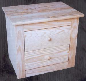 Mesillas muebles de pino macizo 2124 mesilla - Muebles montemayor ...