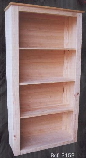 2152 librero montemayor 3 baldas grande 2152 libreros - Muebles montemayor ...