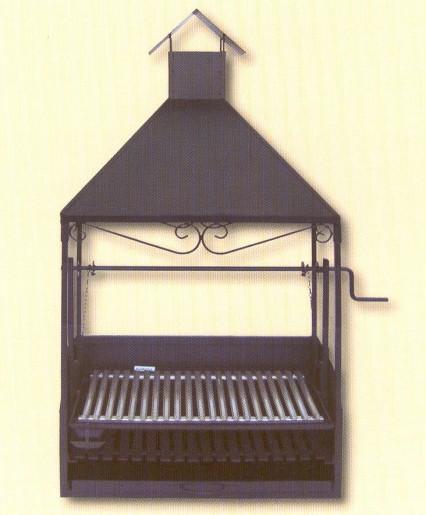 Ideas en chimeneas de hierro para barbacoa y otas hacer - Chimeneas de hierro ...