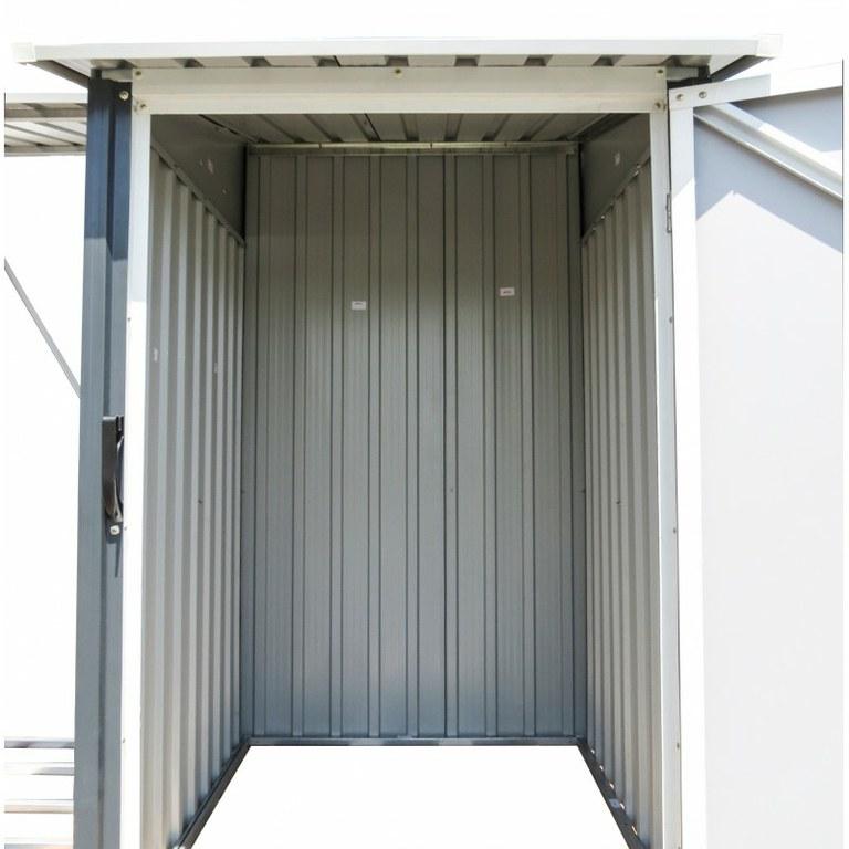 Casetas y cobertizos de metal jardin titan cobertizo - Casetas de metal ...