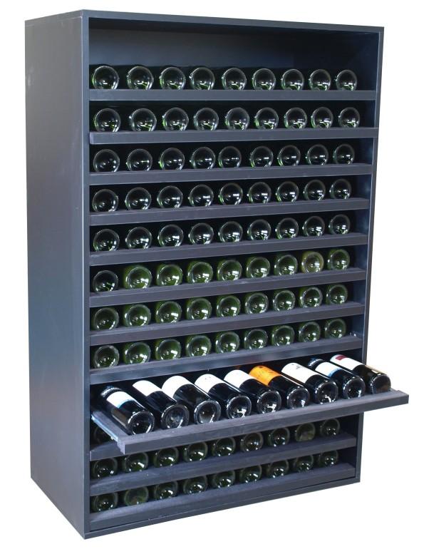 Merlot super extraibles 108 botellas expovinalia ex8170 for Mueble vinos