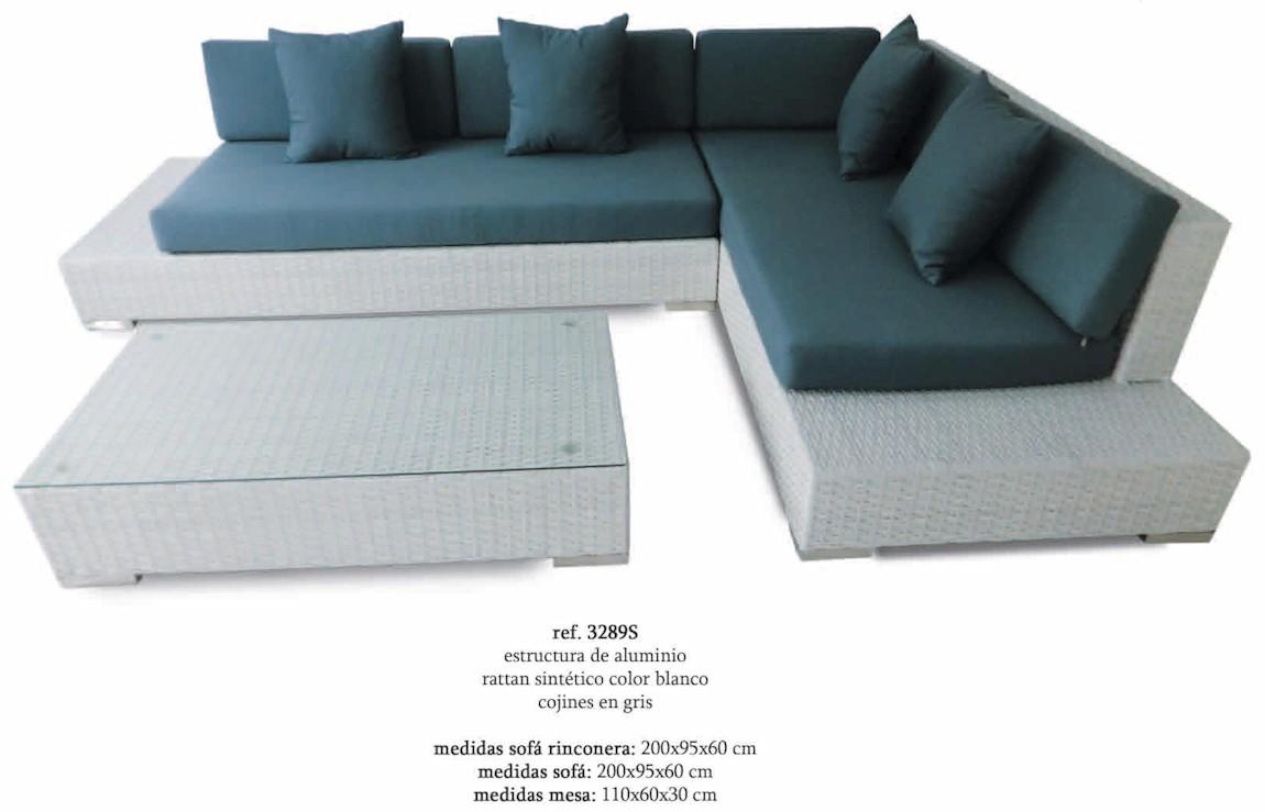 Modular yala almar 3289s conjuntos sofa muebles de for Sofa modular jardin