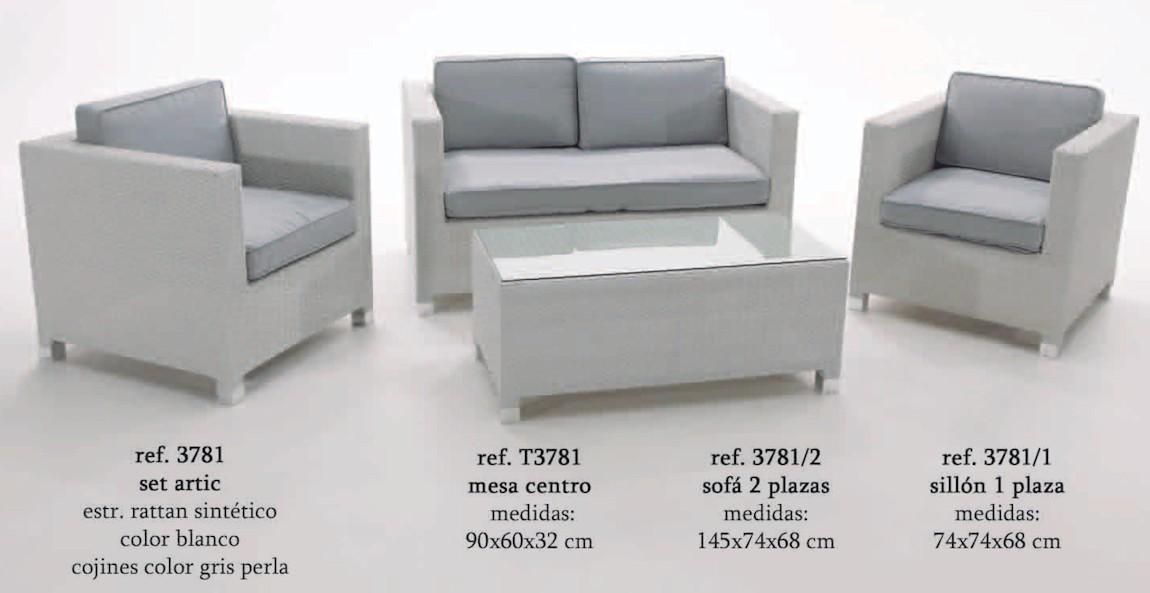 Set Artic - almar-3781AL - Conjuntos Sofa - Muebles de Jardin ...