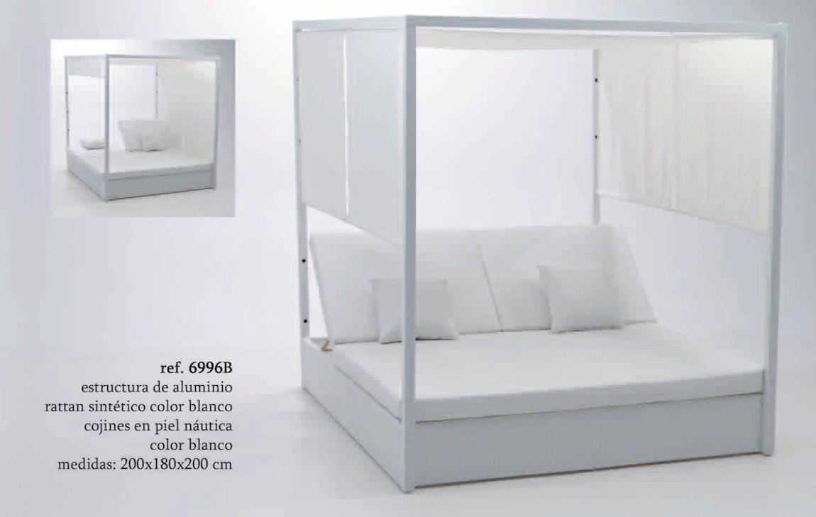Cama balinesa almar 6996b conjuntos relax chill out for Camas balinesas para jardin