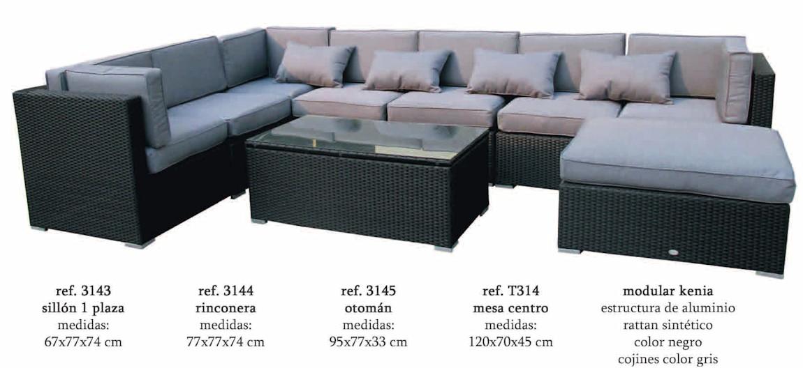 Modular kenia almar kenia2 conjuntos sofa muebles de for Sofa modular jardin