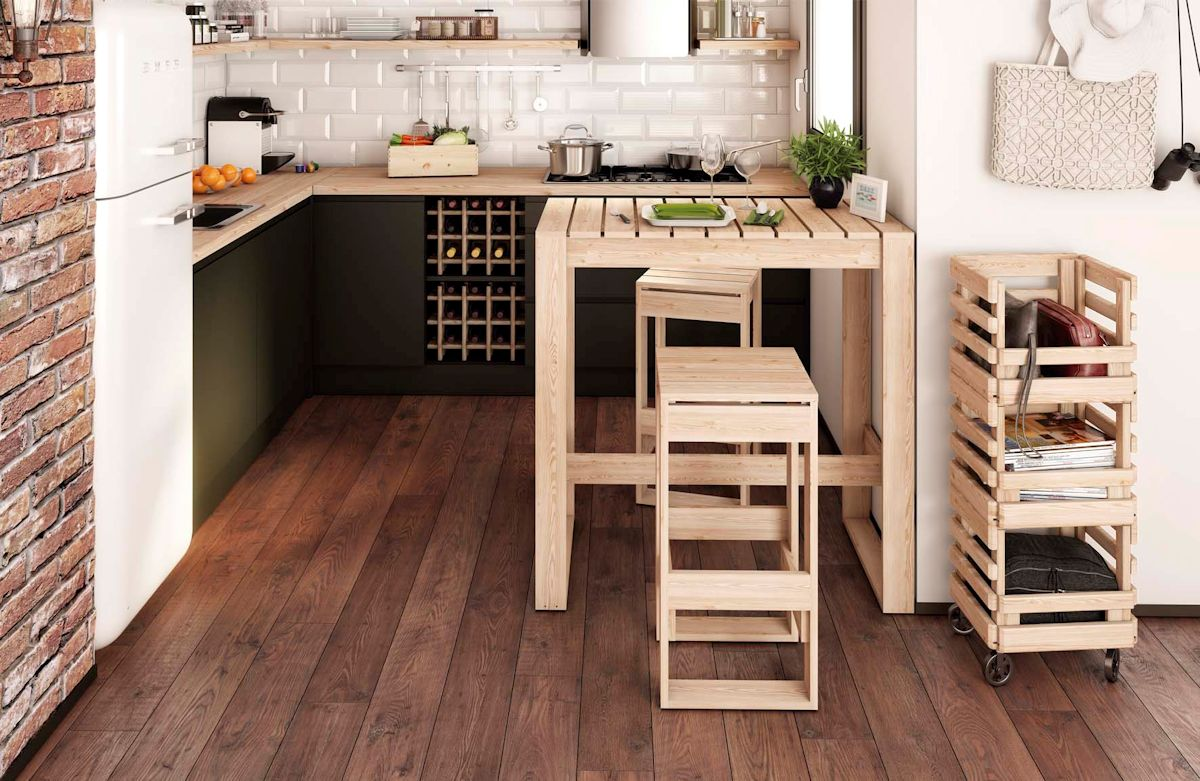 Muebles auxiliares muebles baul 70 baul de madera de - Muebles auxiliares montemayor ...
