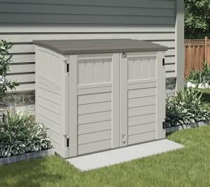 Casetas y armarios de resina jardin dh250 caseta de for Casetas para almacenaje exterior