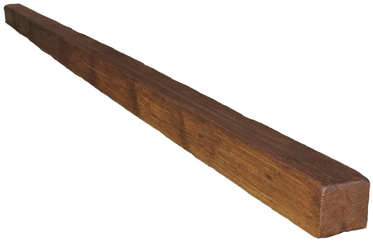 Viga rustica cuadrada 3 m ref 1914 decormur 1914 vigas - Vigas de hormigon imitacion madera ...