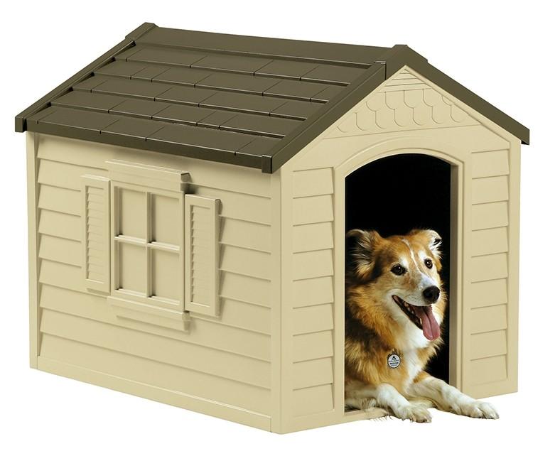 Casetas y armarios de resina jardin dh250 caseta de - Casetas para perros ...