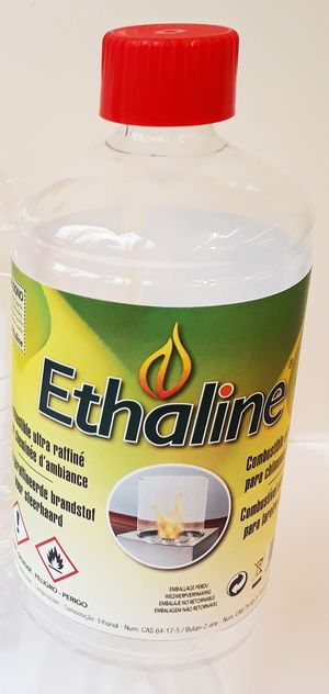 Combustible Ethaline 1 litro 12 botellas