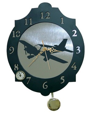 11317 Reloj de Pared modelo Avion