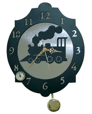 11318 Reloj de Pared modelo Locomotora