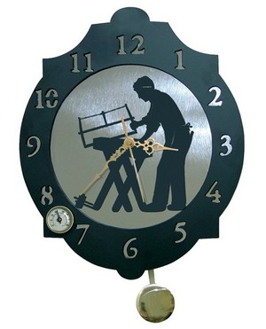 11335 Reloj de Pared modelo Carpintero