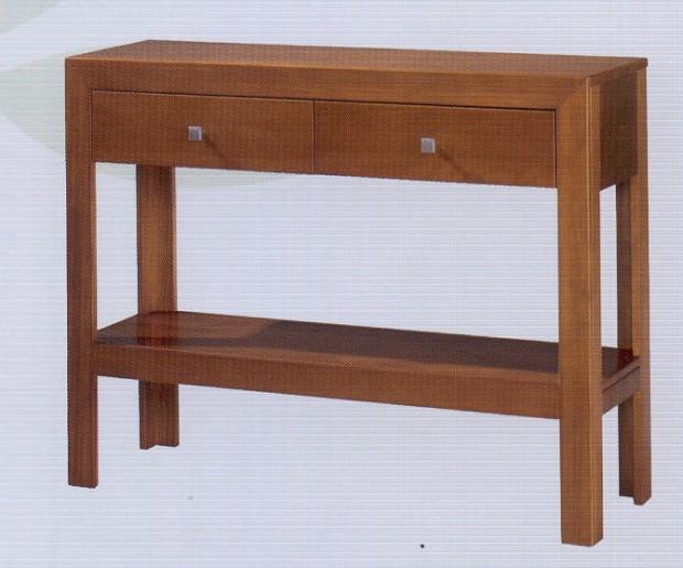 Consola recibidor kn23311 serie kynus cerezo muebles dogar muebles de dogar consola - Consolas muebles ...