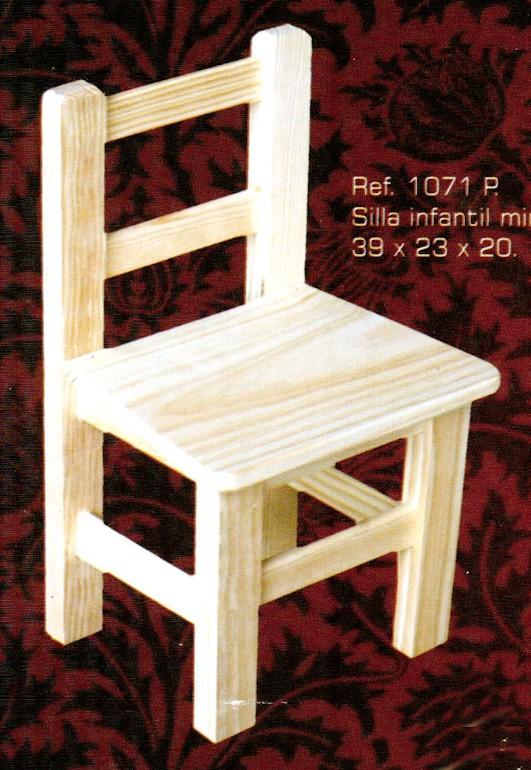 1071p silla infantil mini 1071p seccion infantil - Muebles montemayor ...