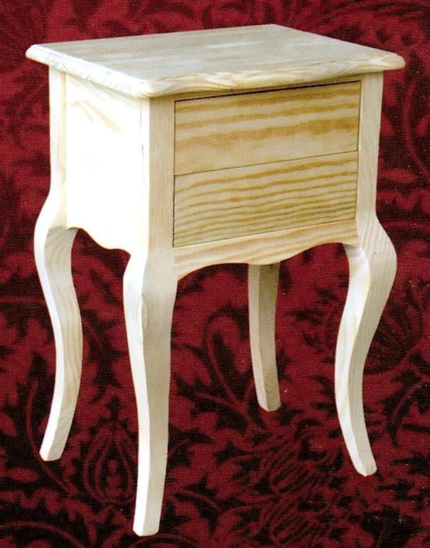 Mesillas muebles de pino macizo muebles 2124 mesilla for Muebles rico bejar