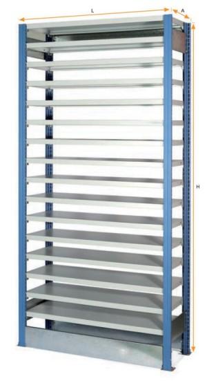 Estanterias metalicas muebles kit estanteria metalica - Estanterias metalicas para casa ...